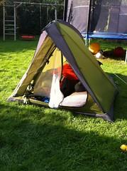 """Meine Mission heute Nacht. """"Outdoor"""" campen mit dem Großen"""