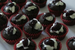 Black Forest Cake Cupcakes