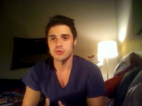 Kris Allen sophomore album update screen capture picture 16