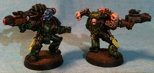 Plaguemarine Champ with Plasma Pistol