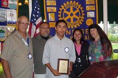 Cristian Catalon is September's El Puente Student of the Month
