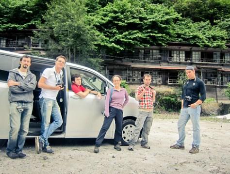 The haikyo team