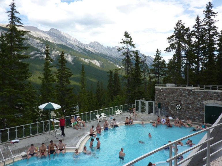 Banff Upper Hot Springs by Bods, on Flickr