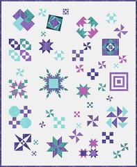 Test Your Skills Sampler Purple Teal