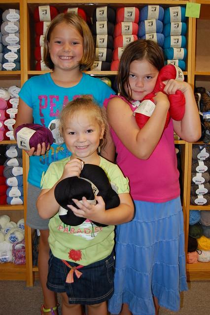 Rebecca's Daughters LOVE Juniper Moon Farm's Yarns