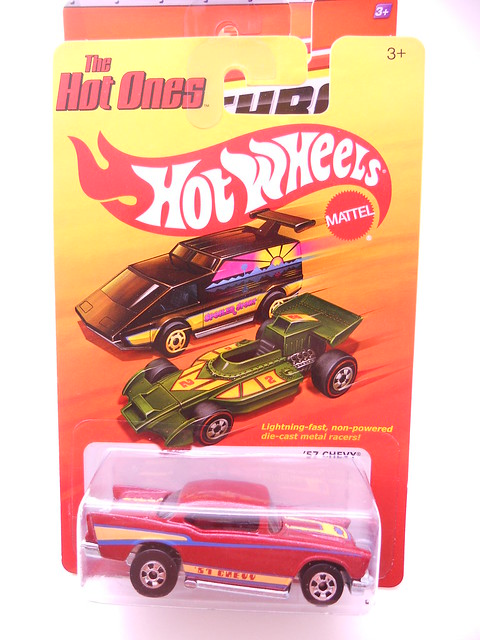 hot wheels hot ones '57 chevy (1)