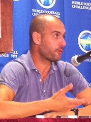 Pep Guardiola in DC