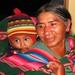Bolivian gramma and grandson