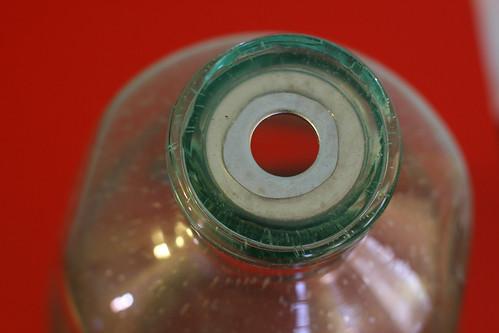 Glass Bottle Lamp: Step 1