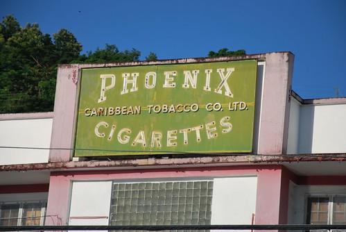 Grenada - St. Georges Phoenix Cigarettes by Julienne Pascoe