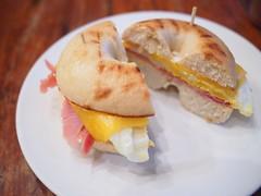 Bagel Egger, Joma Bakery Cafe, Luang Prabang