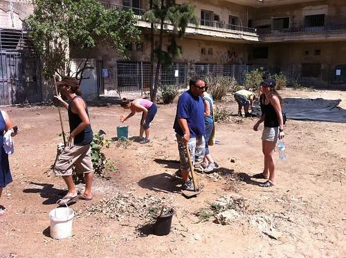 הקמת הגינה הקהילתית בדב הוז