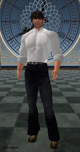 Gothic Demon - Basic White Shirt Outfit