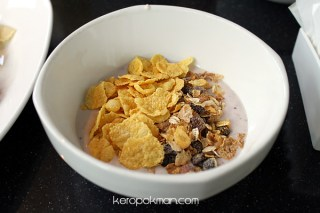 Quincy Hotel - Breakfast