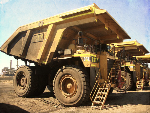 Dump Truck Closeup (Treasured)