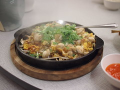 Omelette with oysters, Somboon Seafood, Surawong