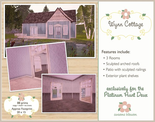 Wynn Cottage for the Platinum Hunt 2