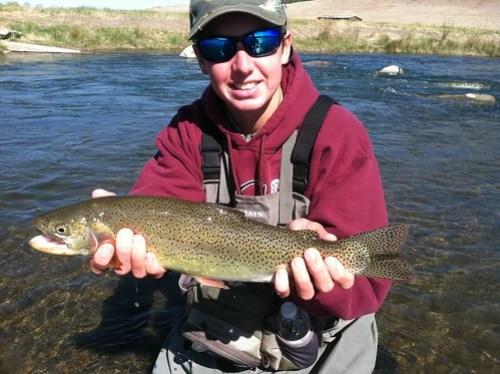 Colorado Cut Bow Fly Fishing