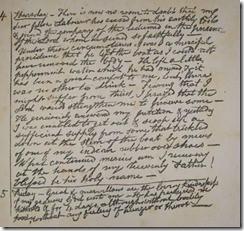 Gardiner's Diary Page