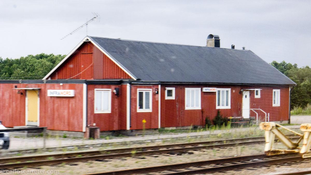 Estación entre Gotemburgo y Estocolmo