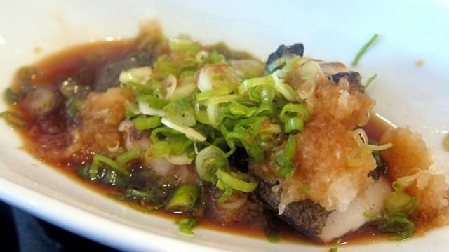 black cod belly at tomo