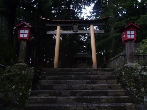 吉田口登山道の入口, 一合目から富士山に登る Climbing Mt.fuji, from the starting point of Yoshidaguchi Climb Trail