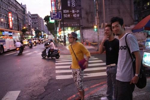 [台湾2.5] ナオさんと合流して飯を食いにいく