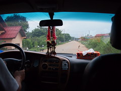 Minibus from Thanaleng to Central Vientiane