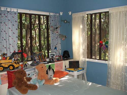 a boy's bedroom