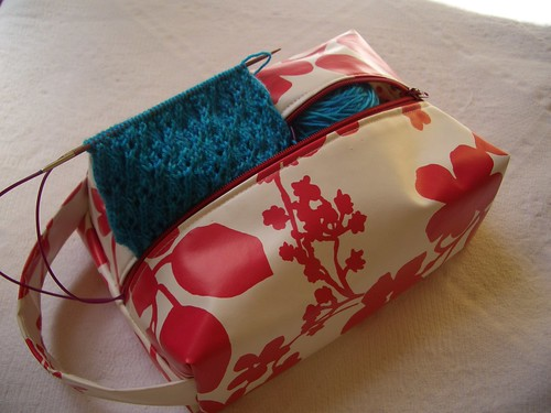 Knitting Project Box Bag