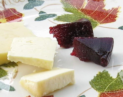 damson and apple cheese