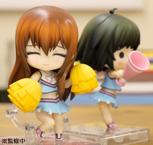 Kurisu's embarrassed expression! How adorable!!