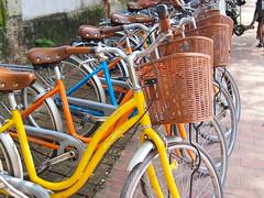 Bicycles for rent, Luang Prabang