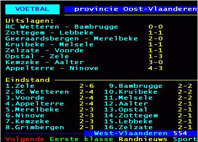 1ste provinciale