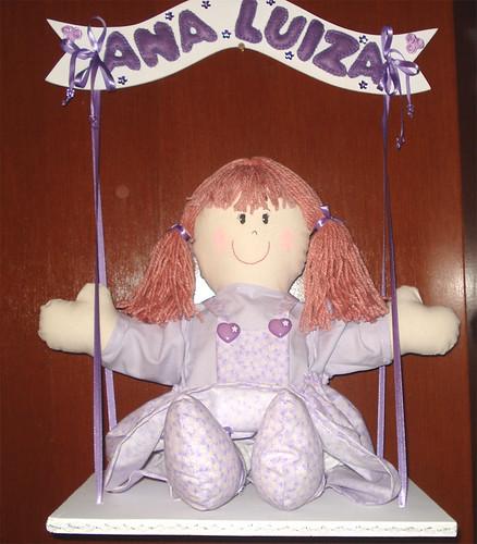 Boneca porta de maternidade by Oficina de Artimanhas by Eli