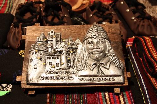 Vlad the Impaler (Dracula) Clock