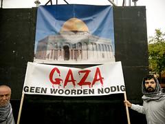 Gaza demonstratie
