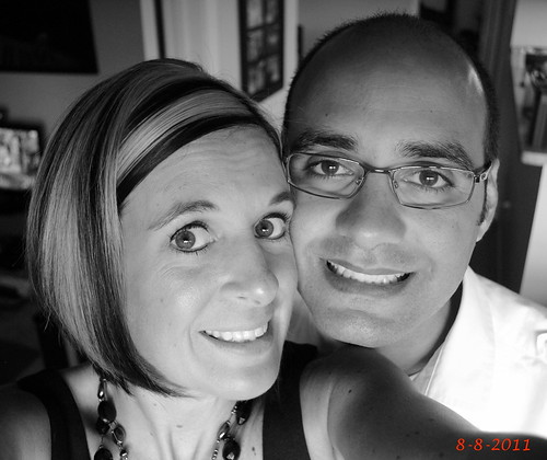 Normy and I celebrated our 3 year Anniversary today 8-8-11