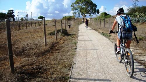 Cicloturismo: Puerto Real-Chiclana