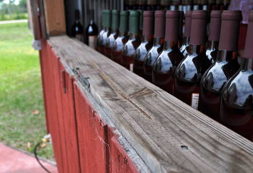 Wine at Henscratch Farms, Lake Placid, Fla.