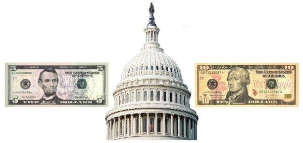 Talk to the Congressman. 15 Dollars. Please.