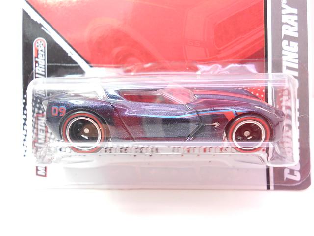 hot wheels garage corvette stingray concept blue (2)