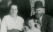 Sarah Brottman and Samuel Kantoff with Beatrice