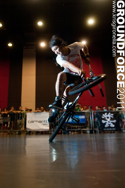 Yohei Uchino - Groundforce 2011 Pro-Class 2nd placer (Japan)