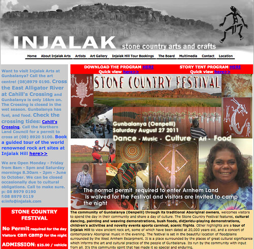 2011 Stone Country Festival - Injalak