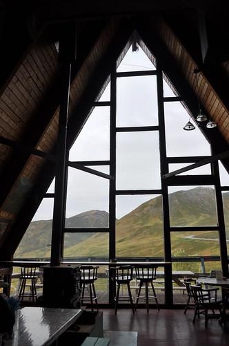 Main Lodge of Hatcher Pass Lodge, Palmer, Alaska