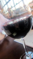 a glass of la madrid bonardo at krog bar