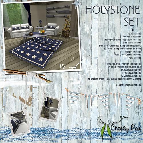 Holystone Set by Isla Gealach