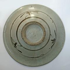 Unknown. Shallow bowl. Base
