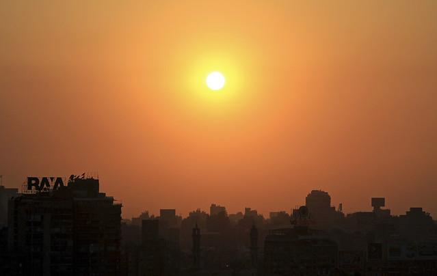 sun over cairo